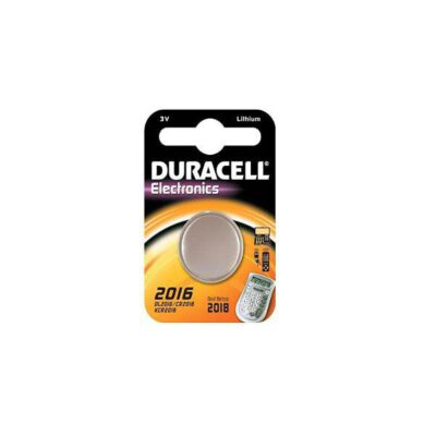 DURACELL ELECTRONICS 3V LM2016 CR2016 2τεμ Μπαταρία Λιθίου
