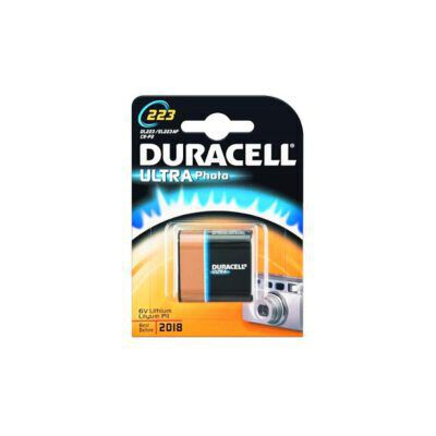 DURACELL ULTRA PHOTO 6V CRP2 1τεμ Μπαταρία Λιθίου